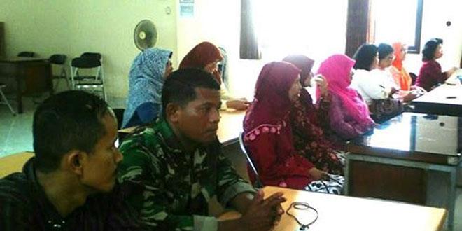 Babinsa Koramil 07/Umbulharjo Melaksanakan Komunikasi Sosial