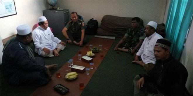 Dandim 0735/Surakarta Koordinasi dengan Tokoh Agama