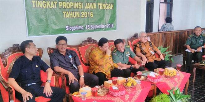 Tim Monitoring TMKK Kodam IV/Diponegoro Adakan Penilaian di Wonogiri