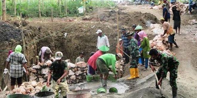 Desa Balongrejo, Blora Jadi Sasaran TMMD Sengkuyung Tahap II