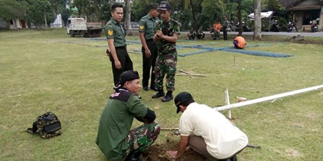 Penyiapan Upacara TMMD Sengkuyung Tahap II TA.2016