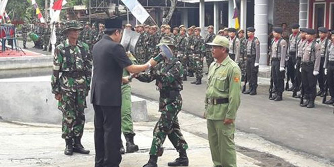 Upacara PembukaanTMMD Sengkuyung Tahap II Kabupaten Magelang