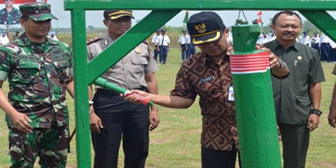 Upacara Pembukaan TMMD Sengkuyung II Kodim 0713/Brebes Tahun 2016