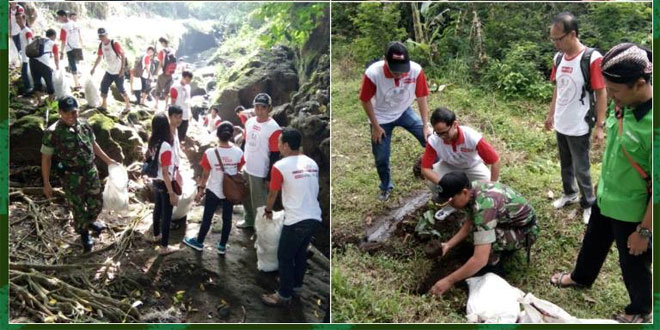 Babinsa Koramil 05/Sleman Ikut Sukseskan Merti Dusun Mancasan