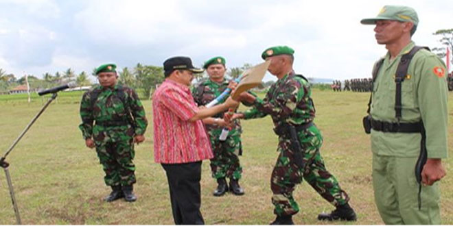 Upacara Pembukaan TMMD Sengkuyung Tahap II Tahun 2016 Di Kabupaten Semarang