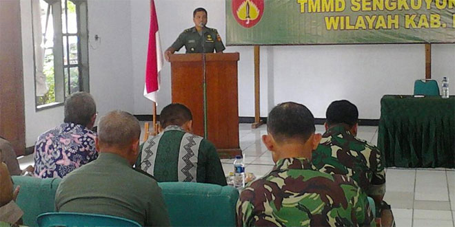 Desa Tengger Lokasi TMMD Sengkuyung II TA 2016
