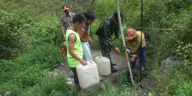 Wilayah Kemalang Sulit air bila kemarau