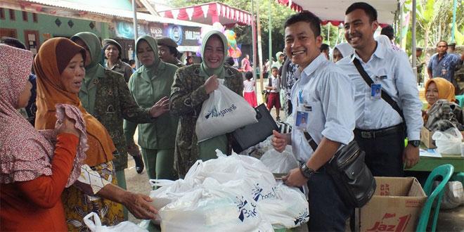 Bazar Murah Persit KCK Cab XVI Kodim 0701/Banyumas