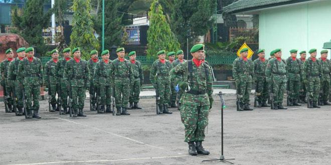 Kodim 0714/Salatiga Melaksanakan Kegiatan Upacara Dalam Rangka HUT TNI Ke 71 Tahun 2016