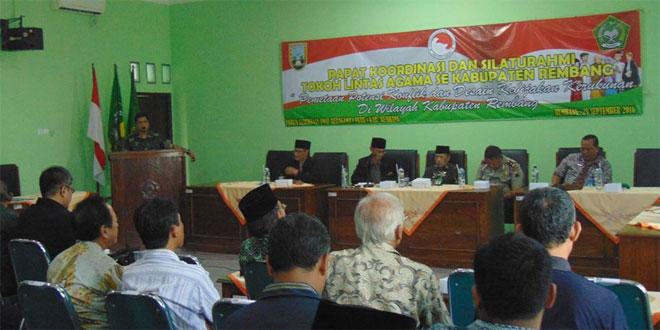 SKPD Siap Kawal Kerukunan Umat Beragama di Rembang