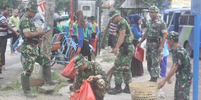 TNI AD Siap Perangi Sampah