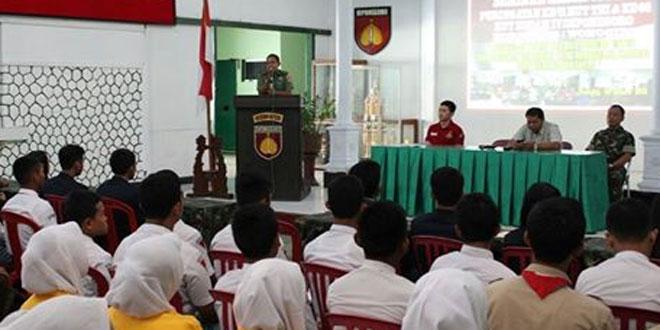 Sambut Ke-71 Hari TNI & HUT Kodam IV/Diponegoro Ke-66 Kodim 0728/Wonogiri Gelar Seminar Kebangsaan