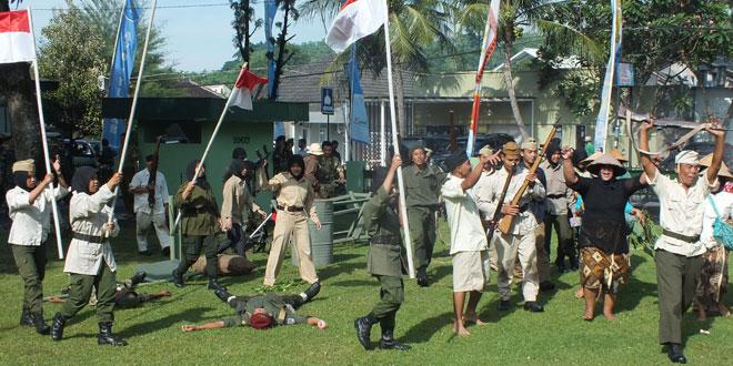 Kodim 0729/Bantul Menggelar Upacara  HUT TNI ke 71