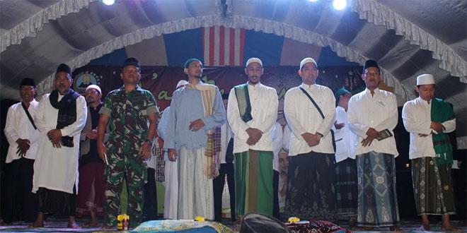 Dzikir Akbar Munajah Ratib Al-Haddad Dalam Rangka HUT Yonif 408/Sbh Ke-50