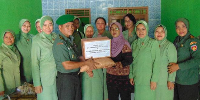 Anjangsana Merupakan Bentuk Perhatian TNI AD kepada anggota