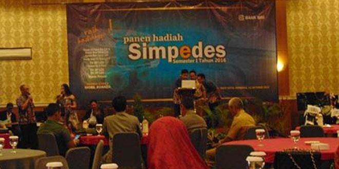 Dandim 0720 Rembang Hadiri Acara Panen Hadiah Simpedes Tahap 1 tahun 2016