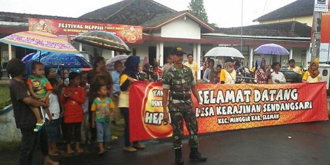 Festival Heppi Kunjungi Desa Wisata dan Kerajianan Lokal Sendangsari Minggir