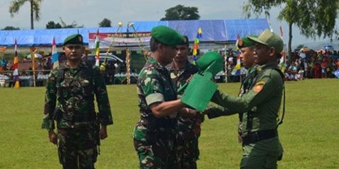 Upacara Penutupan TMMD Sengkuyung II Kodim 0713/Brebes Tahun 2016