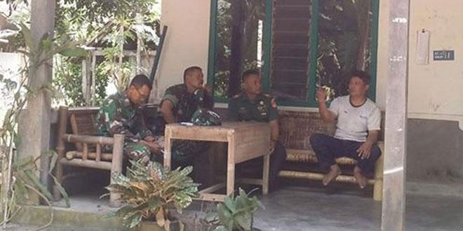 Kuatnya Tali Silahturahmi Kunci Kemanunggalan TNI-Rakyat di Wilayah