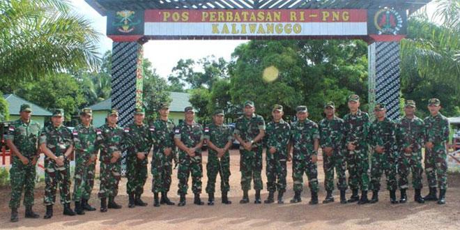 Aspam Kasad : Prajurit TNI di Perbatasan Harus Semakin Dekat dengan Masyarakat
