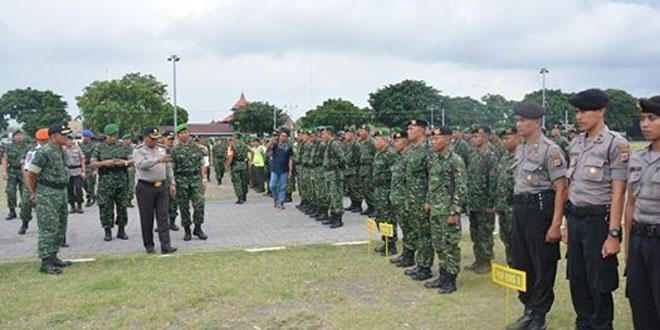 Personel Keamanan baik dari TNI maupun Polri Disiagakan