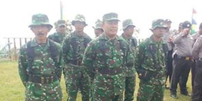 Babinsa Koramil 03/Parakan Mengikuti Gladi Posko Penanggulangan Bencana Alam