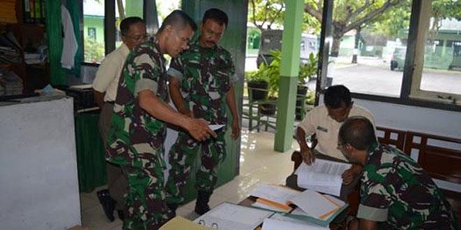 Waaslog Kasdam IV/Diponegoro Pimpin Wasgiatlog di Kodim 0712/Tegal