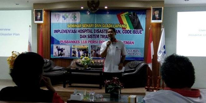 Babinsa Koramil 05/Sleman Hadiri Seminar dan Pembukaan Latihan Geladi Lapang