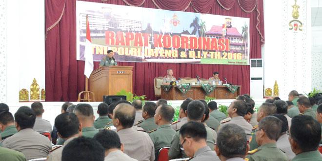 Kodam IV/Diponegoro Siap Backup Polri Dalam Pilkada
