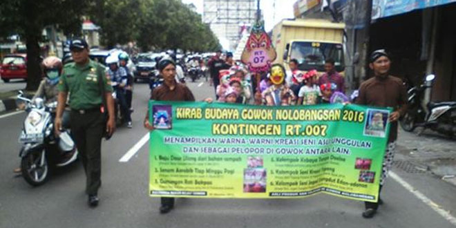 Koramil 11/Depok Ikut Serta Pagelaran Budaya di Wilayahnya