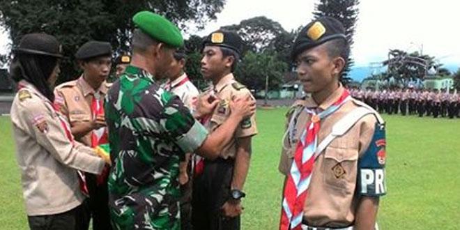 Upacara Penutupan Diksar Saka Wira Kartika Kodim 0701/Banyumas