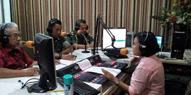 Kasdim 0735/Ska Melaksanakan Dialog Interaktif di Radio Meta