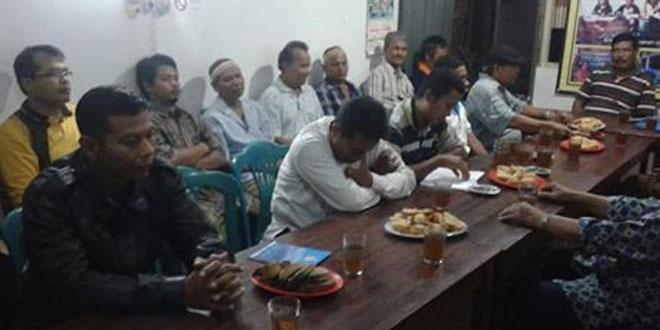 Babinsa Terban Serda Indriarta Menghadiri Undangan di Wilayah Binaannya