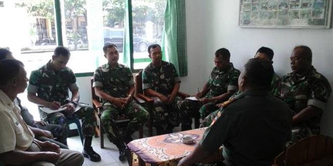Anggota Koramil Sambirejo Laksanakan Jam Komandan