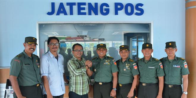 Kodam IV/Diponegoro Jalin Sinergitas dengan Media
