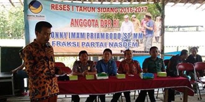 Bati Tuud Koramil 16/Jaken Menghadiri Dialog di Omah Rembug Desa Ronggo Kec. Jaken