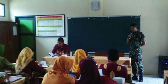 Komandan Koramil 03/Parakan Dialog Lomba Sekolah Sehat di SDN Watu Kumpul