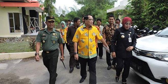 Damdim Dampingi Kunjungan Anggota DPR RI di RKG