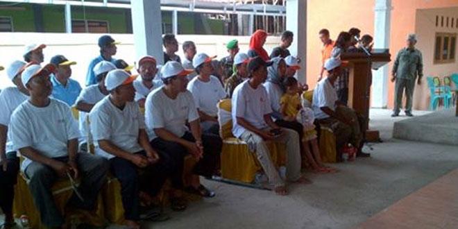 Kunker Menteri BUMN RI di Kampung Bawang Merah Desa Jagalempeni