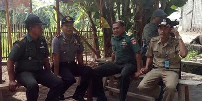 Kasdim 0732/Sleman Melakukan Kunjungan ke Muspika Kecamatan Ngemplak