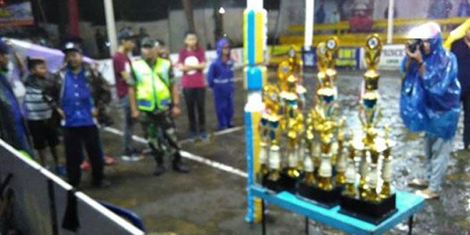 Koramil 04/Tempel Bantu Pengamanan Final Bola Volly Bupati Sleman Cup