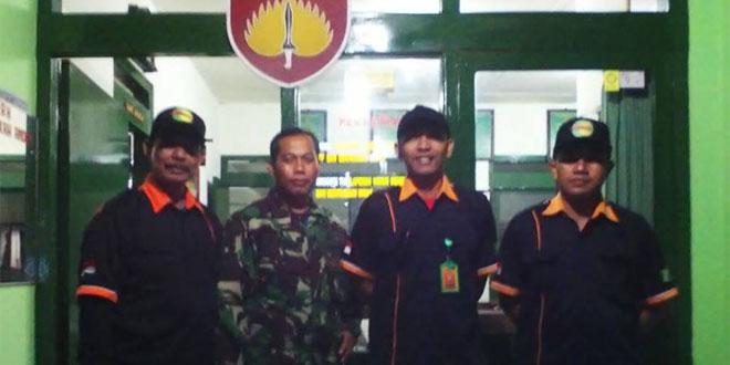 Serka Hari Purwanto Laksanakan Pembinaan Terhadap Relawan