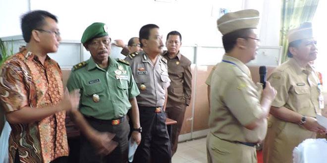 Kasdim Hadiri Upacara Hari Kesehatan Nasional Kabupaten Grobogan