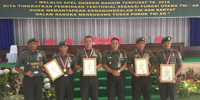 Penghargaan Upsus Ketahanan Pangan untuk Kodim 0723/Klaten