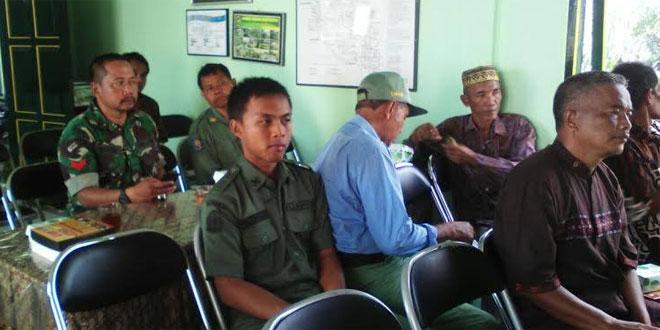 Babinsa Pandeyan Kodim 0734/Yka Pembekalan Linmas Dalam Rangka Menghadapi Pilkada