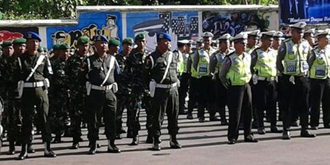 Pabung Kodim 0714/Salatiga Menghadiri Apel Ke-Bhineka Tunggal Ikaan di Kabupaten Semarang