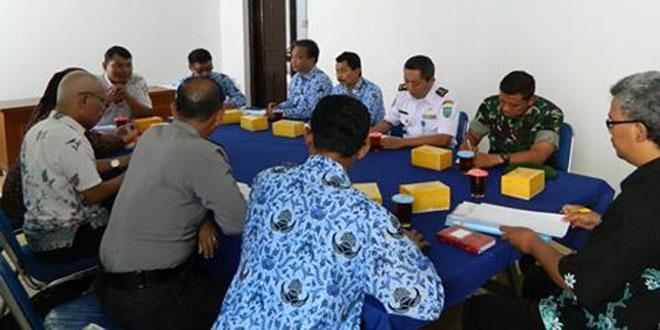 Rapat Koordinasi Pengawasan dan Pengamanan Kampanye Pilkada Kota Salatiga Tahun 2017