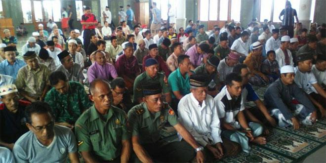 Istighosah Bareng TNI dan Masyarakat