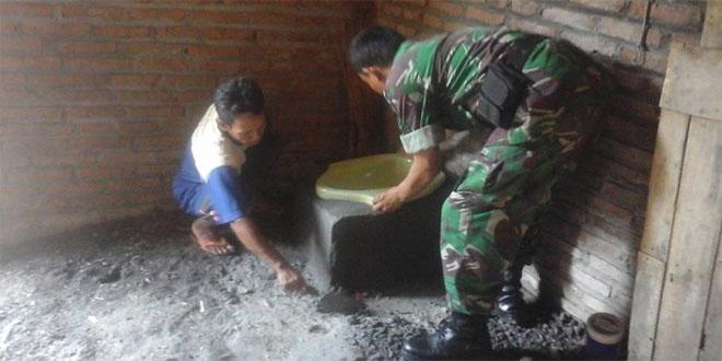 Anggota Kodim 0731/Kulonprogo Melaksanakan Gerak Jalan