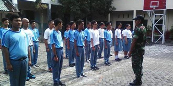 Pelatihan PBB SMK Kristen 1 Surakarta